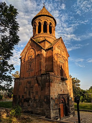 Saint Holy Mother church of Yeghvard, 31 August 2019.jpg