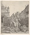 Saint Jerome Walking in a Churchyard MET DP833049.jpg