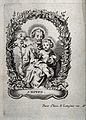 Saint Joseph and the Christ Child. Engraving. Wellcome V0033892.jpg
