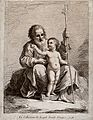 Saint Joseph with the Christ Child. Etching by F. Bartolozzi Wellcome V0033890.jpg
