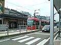 Sakasitamati Station Manyo Line 万葉線 坂下町駅 - panoramio.jpg