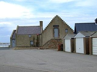 Fish-House, Peterhead Building in Scotland