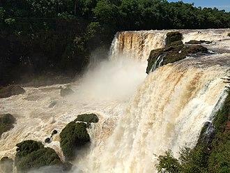 Saltos del Monday - Image: Saltos del Monday, Presidente Franco, Paraguay
