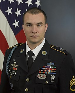 Salvatore Giunta United States Army Medal of Honor recipient