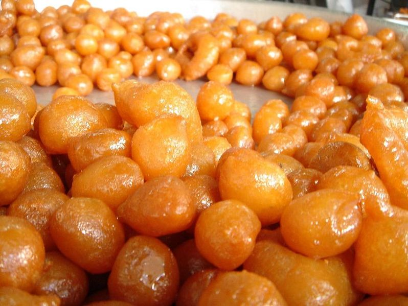 Lokma. From Best Street Foods in Istanbul, Turkey