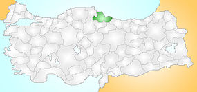 Samsun Turkey Provinces locator.jpg
