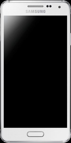 Samsung Galaxy Alpha - Samsung Galaxy Alpha in White