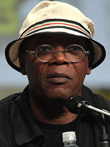 Portrait photograph of Jackson at 2014 San Diego Comic-Con