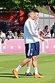 Sandro Wagner Niklas Suele Training 2018-05-08 FC Bayern Muenchen-1.jpg