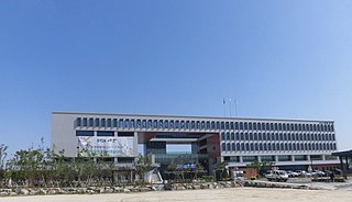 Sangdang-gu Non-autonomous District in Hoseo, South Korea