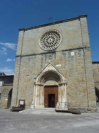 Amatrice - Church of Sant'Agostino in May 2011