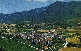 Campezo/Kanpezu - View of Santa Cruz de Campezo/Santikurutze Kanpezu
