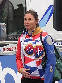 Sarah storey   2017 tour series (motherwell, pre race)