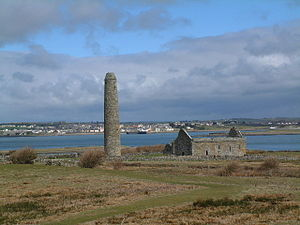 Inis Cathaigh - The ruins in 2004