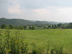 Washington County, Virginia - Farmland in Washington County near Friendship and Wideners Valley