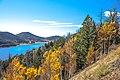 Scenic fall colours along Utah State Route 14 - Navajo Lake at 2850 m - (22811869675).jpg