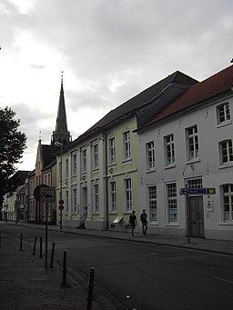 Haagstraße in Moers