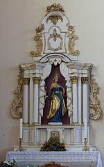 2 retables des autels secondaires à Schleithal