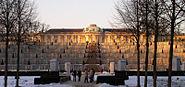 Schloss-Sanssouci Abendsonne