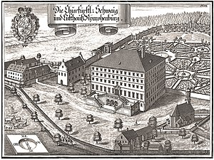 Agostino Barelli - Nymphenburg Palace, 1701