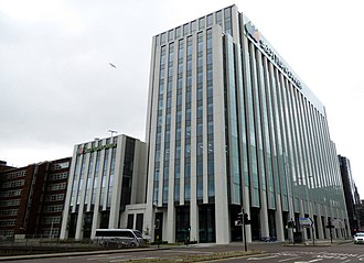 Scottish Power - The company's new headquarters in central Glasgow (2017)