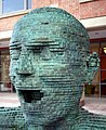 Sculpture, Queen's University Belfast - geograph.org.uk - 1555050.jpg