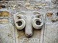 Sculpture, au-dessus de la porte de l'ancienne chapelle. Liebvillers.jpg