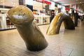 Sculpture Passarellen-Wurm Hannover main station Mitte Hannover Germany.jpg