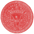 Seal Hungary Guild Butchers Győr (1713).png