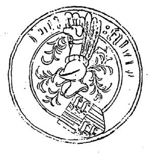 Gaston IV, Count of Foix - Seal of Gaston IV, Count of Foix