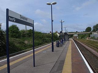 Seamer railway station Station in North Yorkshire, England