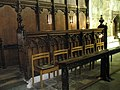 Seats in the Lady Chapel within Winchester Cathedral - geograph.org.uk - 1163764.jpg