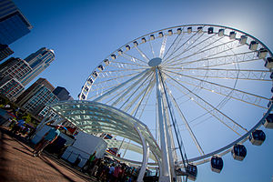 Seattle Great Wheel - Image: Seattle Great Wheel