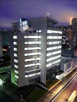 Sede da companhia, localizada na Av. Brigadeiro Luís Antônio, na cidade de  São Paulo. 4e581ab1ae