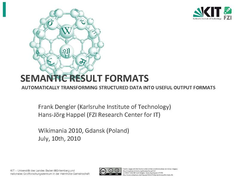 File:Semantic Result Formats- Automatically transforming structured data into useful output formats.pdf
