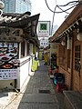 Seoul-Insadong-A restaurant entrance-03.jpg