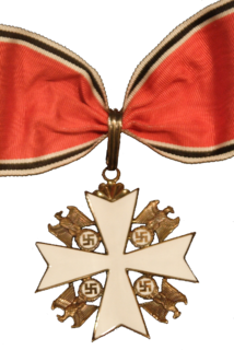 Order of the German Eagle Nazi German award given to sympathetic foreigners.