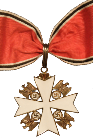 The Dearborn Independent - Grand Cross of the German Eagle, an award bestowed on Ford by Nazi Germany
