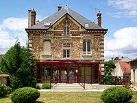 Seugy (95), mairie, rue de la Fontaine.jpg