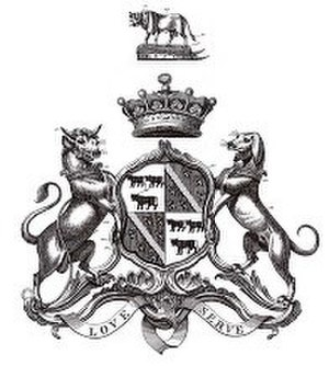 Earl of Shaftesbury - The family's coat of arms