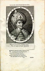 Shah Abbas I engraving by Dominicus Custos - Antwerp artist printer and engraver.jpg