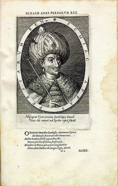 Dosya:Shah Abbas I engraving by Dominicus Custos - Antwerp artist printer and engraver.jpg
