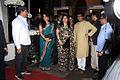 Shaina NC, Sharmila Thackeray, Raj Thackeray at Esha Deol's wedding reception 06.jpg