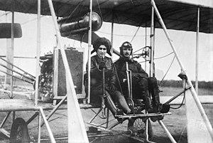 Vsevolod Abramovich - Abramovich with Eugenia Mikhailovna Shakhovskaya in 1913
