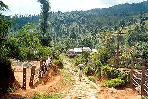 Dorf im Norden des Shan-Staats