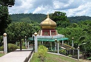 Sharif Ali - The tomb of Sultan Sharif Ali, near Kota Batu, Brunei.