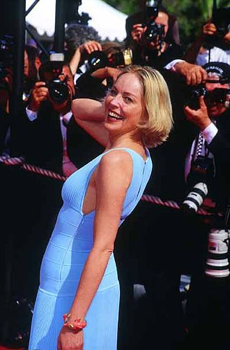 Sharon Stone - Stone at the 2002 Cannes Film Festival