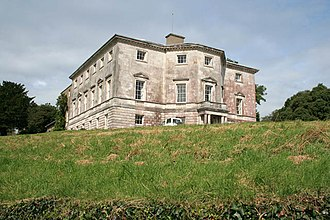 Sharpham, Ashprington - Sharpham House, Ashprington, Devon, commenced in about 1770 by Captain Philemon Pownoll to the designs of the architect Sir Robert Taylor