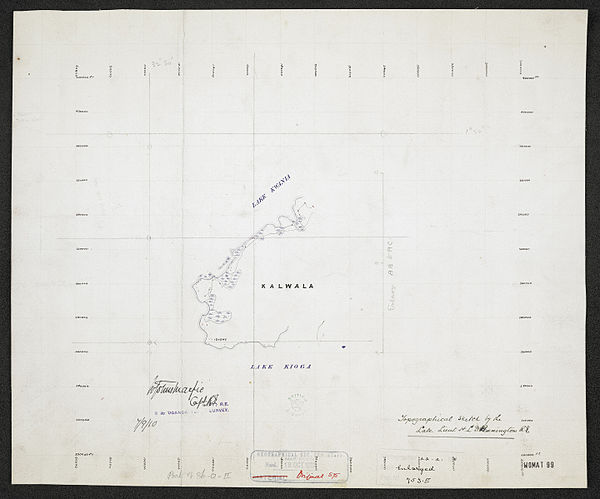 600px sheet north a 36 o   war office ledger.uganda topographical survey   sheets 3%2c4 and 5. %28woos 13 3 2%29