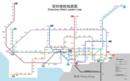 Shenzhen Metro(Rapid Transit)System Map 2016